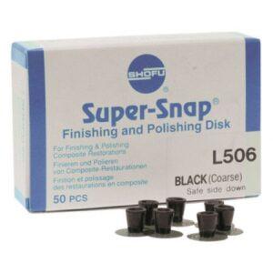 Shofu Super Snap X-treme Mini Disk Large Refills black